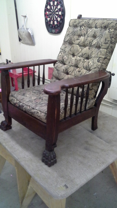 Antique Recliner (1)